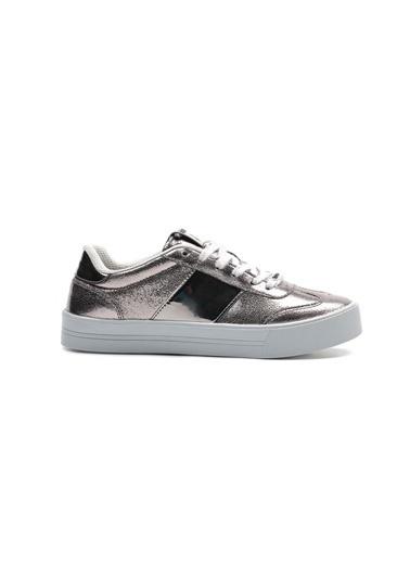Letoon Spor Ayakkabı Gümüş
